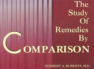 Roberts, H A - The Study of Remedies by Comparison