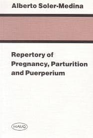 Soler Medina, A - Repertory of Pregnancy, Parturition and Puerperium