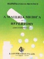Stephenson, J - Hahnemanian Provings: A Materia Medica and Repertory