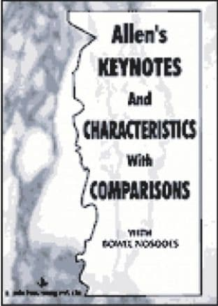 Allen - Keynotes and Characteristics with Comparisons (2nd Hand)