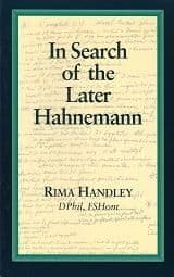 Handley, R - In Search of the Later Hahnemann