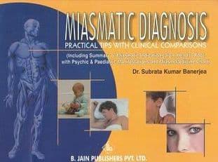 Banerjea, Dr  S K - Miasmatic Diagnosis