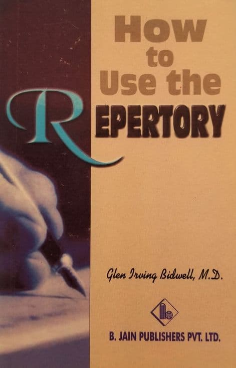 Bidwell, GI - How to use the Repertory (2nd Hand) (1)