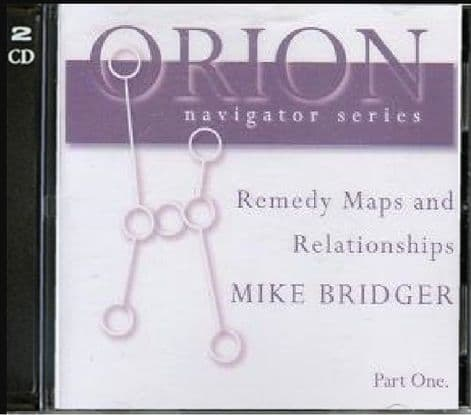 Bridger, M - Remedy Maps and Relationships - Vol 1