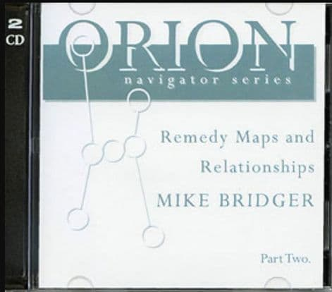 Bridger, M - Remedy Maps and Relationships - Vol 2