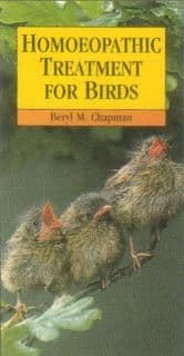 Chapman, B - Homoeopathic Treatment for Birds