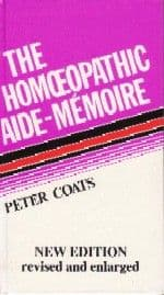 Coats, P - The Homoeopathic Aide Memoire