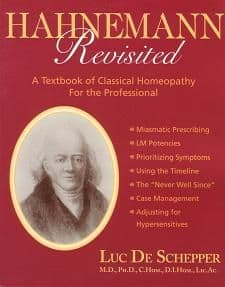 de Schepper, Dr L - Hahnemann Revisited