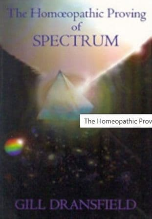 Dransfield, G - The Homoeopathic Proving of Spectrum