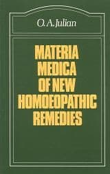 Julian, O A - Materia Medica of New Homoeopathic Remedies