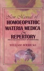 Boericke, Dr W -  New Manual of Homoeopathic Materia Medica
