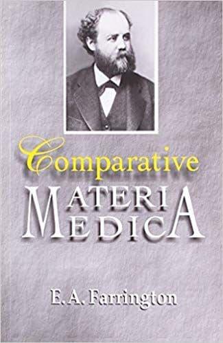 Farrington, E A - Comparative Materia Medica