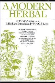 Grieve, M - A Modern Herbal
