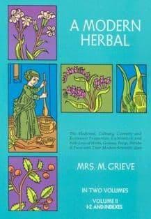 Grieve, M - A Modern Herbal: Volume 2