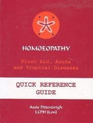 Pittendrigh, A - Homoeopathy: First Aid, Acute and Tropical Diseases