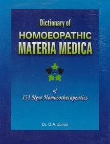 Julian, O A - Dictionary of Homoeopathic Materia Medica