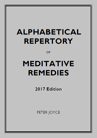 Joyce, Peter - 2017 Repertory of Meditative Remedies (Standard Alphabetical Rubrics)