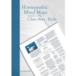 Lee, A - Homeopathic Mind Maps: Remedies of the Class Aves - Birds (Vol 4)