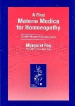 Roy, M - A First Materia Medica for Homoeopathy