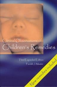 Master, Dr F J - Clinical Observations of Children's Remedies