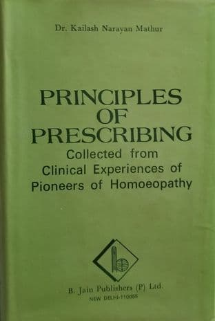 Mathur, K N - Principles of Prescribing (2nd Hand HB)