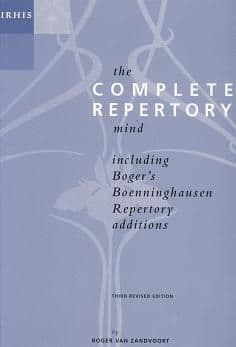 Zandvoort, R Van - The Complete Repertory Mind (Paperback)
