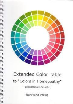 Welte, U - Colors in Homeopathy - Extended Color Table