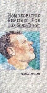Speight, P - Homoeopathic Remedies for Ears, Nose and Throat