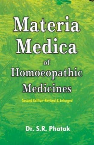 Phatak, Dr S R - Concise Materia Medica