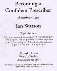 Watson, I - Becoming A Confident Prescriber