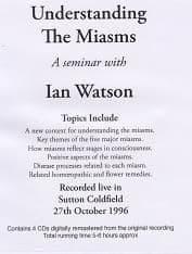 Watson, I - Understanding The Miasms