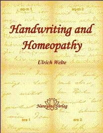 Welte, U - Handwriting and Homeopathy