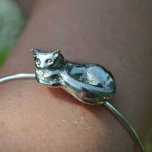 Cat bangle EB05