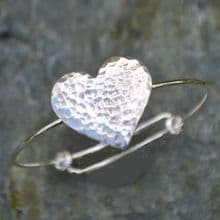 Heart bangle EB01