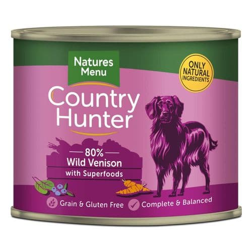 Country Hunter Cans 600g
