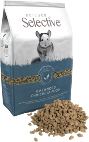 Selective Chinchilla Food 1.5kg