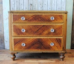 Antique pine chest of drawers - SOLD