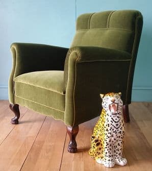 Danish lounge chair (high back) - sold