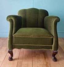 Danish lounge chair (low back) - SOLD