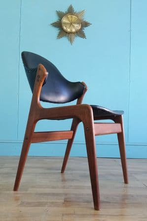 Danish teak desk chair - SOLD