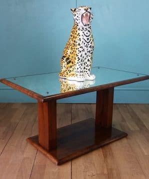 English art deco coffee table
