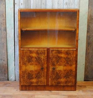 English art deco drinks cabinet - SOLD