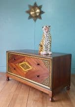 English mahogany chest of drawers - SOLD