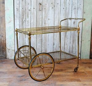 French  drinks trolley - SOLD