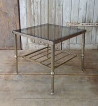 French silver side table - SOLD