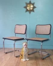 Italian Cesca dining chairs - SOLD