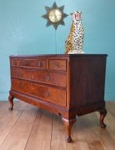 Mahogany chest of drawers - SOLD