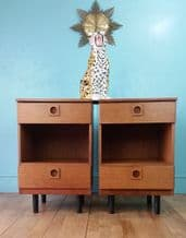 Mid century bedside tables - Sold