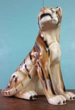 Vintage Italian ceramic tiger - SOLD