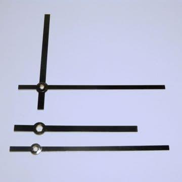 120mm Black baton hands (hr-5.0mm, Min-3.5mm)